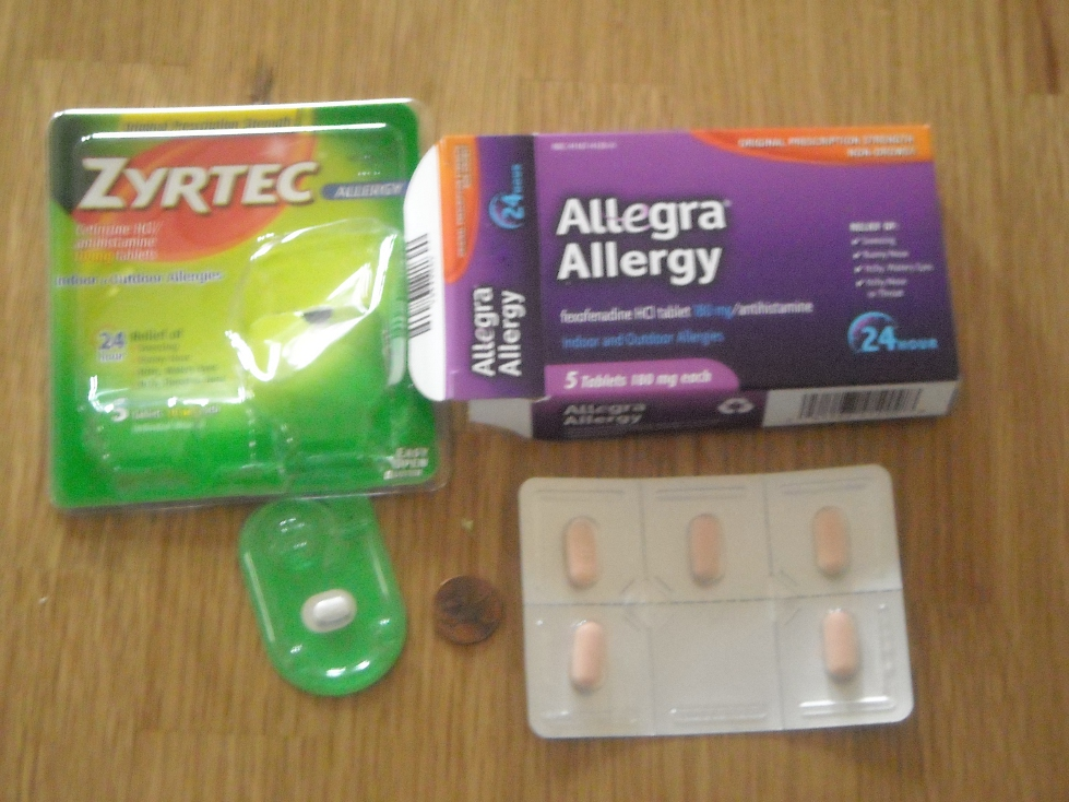 allegra, zyrtec, antihistamines, fexofenadine, cetirizine, review and comparison