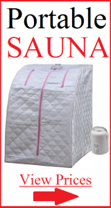 portable sauna, cholinergic urticaria, steam sauna